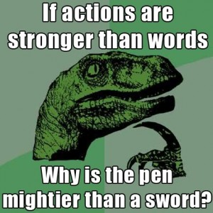 philosoraptor-sword-pen