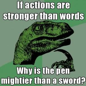 philosoraptor-sword-pen